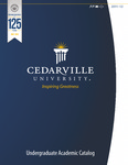 2011-2012 Undergraduate Academic Catalog by Cedarville University