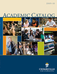 2009-2010 Undergraduate Academic Catalog by Cedarville University