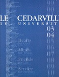 2003-2004 Academic Catalog by Cedarville University