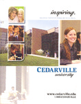 2004-2005 Academic Catalog by Cedarville University