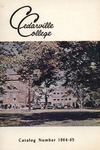 1964-1965 Academic Catalog by Cedarville College