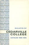 1969-1970 Academic Catalog by Cedarville College