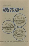 1970-1971 Academic Catalog by Cedarville College