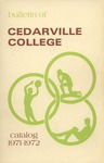 1971-1972 Academic Catalog by Cedarville College