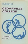 1972-1973 Academic Catalog by Cedarville College