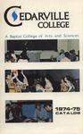 1974-1975 Academic Catalog