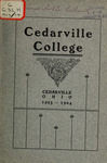 1903-1904 Academic Catalog by Cedarville College