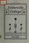 1904-1905 Academic Catalog by Cedarville College