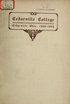 1908-1909 Academic Catalog by Cedarville College