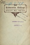 1909-1910 Academic Catalog by Cedarville College