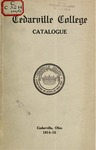 1914-1915 Academic Catalog by Cedarville College