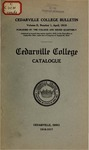 1916-1917 Academic Catalog by Cedarville College