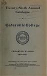 1920-1921 Academic Catalog