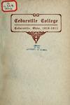 1910-1911 Academic Catalog