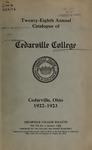 1922-1923 Academic Catalog