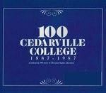 1986-1987 Academic Catalog by Cedarville College