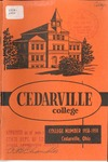 1958-1959 Academic Catalog by Cedarville College