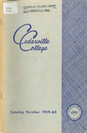 1959-1960 Academic Catalog by Cedarville College