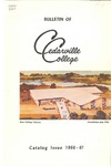 1966-1967 Academic Catalog by Cedarville College