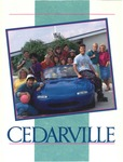 1992-1993 Academic Catalog by Cedarville College