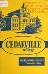 1955-1957 Academic Catalog by Cedarville College
