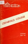 1961-1962 Academic Catalog by Cedarville College