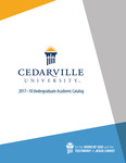 2017-2018 Undergraduate Academic Catalog by Cedarville University