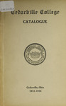 1913-1914 Academic Catalog by Cedarville College