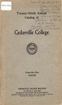 1923-1924 Academic Catalog by Cedarville College