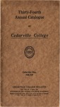 1928-1929 Academic Catalog by Cedarville College