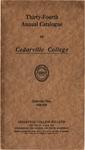 1928-1929 Academic Catalog