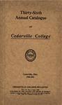 1930-1931 Academic Catalog