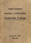 1932-1933 Academic Catalog