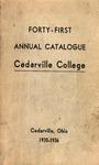 1935-1936 Academic Catalog