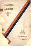 1900-1901 Academic Catalog by Cedarville College