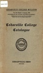 1918-1919 Academic Catalog by Cedarville College