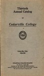 1924-1925 Academic Catalog by Cedarville College
