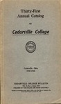 1925-1926 Academic Catalog by Cedarville College