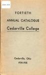 1934-1935 Academic Catalog