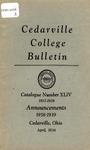 1938-1939 Academic Catalog
