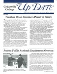 Update, Fall 1992 by Cedarville College