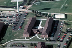 Residence Halls--Johnson Hall, St. Clair Hall, and the Green Center by Cedarville University