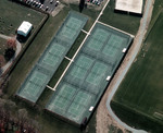 Tennis Courts by Cedarville University