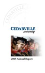 2004-2005 Cedarville University Annual Report by Cedarville University