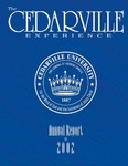2001-2002 Cedarville University Annual Report by Cedarville University