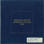 1979-1980 Cedarville College Annual Report by Cedarville College
