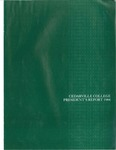 1983-1984 Cedarville College Annual Report by Cedarville College
