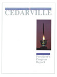 1986-1987 Cedarville College Annual Report by Cedarville College