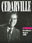 1989-1990 Cedarville College Annual Report
