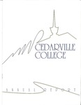 1992-1993 Cedarville College Annual Report